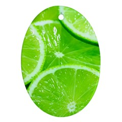 Limes 2 Ornament (oval)
