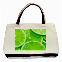 Limes 2 Basic Tote Bag (two Sides)
