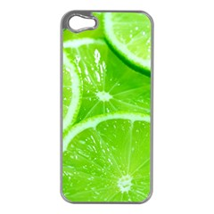 Limes 2 Apple Iphone 5 Case (silver)