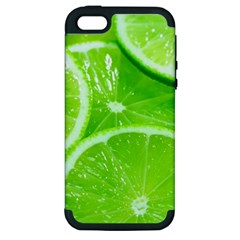 Limes 2 Apple Iphone 5 Hardshell Case (pc+silicone)
