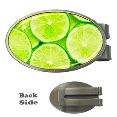 Limes 3 Money Clips (oval)