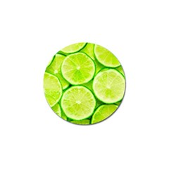 Limes 3 Golf Ball Marker (10 Pack)