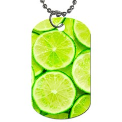 Limes 3 Dog Tag (two Sides)