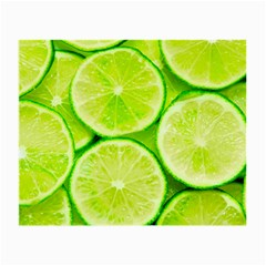 Limes 3 Small Glasses Cloth (2 Side)