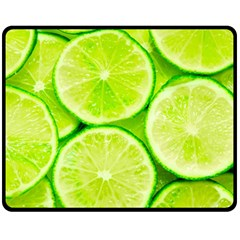 Limes 3 Fleece Blanket (medium)