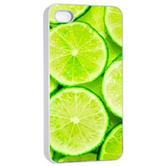 Limes 3 Apple Iphone 4/4s Seamless Case (white)