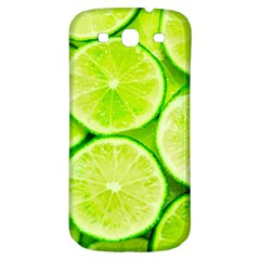 Limes 3 Samsung Galaxy S3 S Iii Classic Hardshell Back Case
