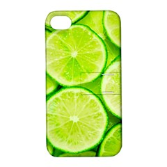 Limes 3 Apple Iphone 4/4s Hardshell Case With Stand