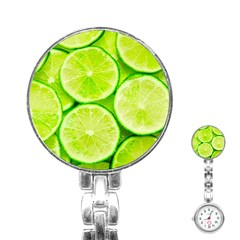 Limes 3 Stainless Steel Nurses Watch