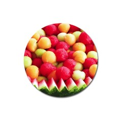 Melon Balls Magnet 3  (round)