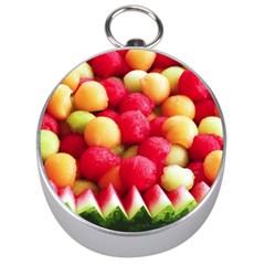 Melon Balls Silver Compasses
