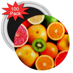 Mixed Fruit 1 3  Magnets (100 Pack)
