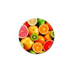 Mixed Fruit 1 Golf Ball Marker (4 Pack)