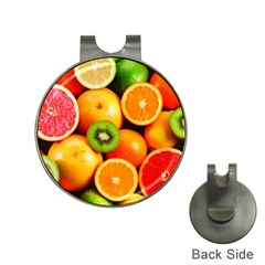 Mixed Fruit 1 Hat Clips With Golf Markers