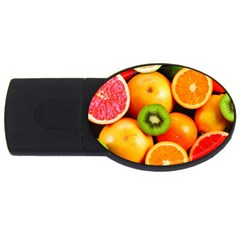 Mixed Fruit 1 Usb Flash Drive Oval (4 Gb)