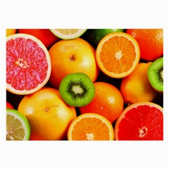 Mixed Fruit 1 Large Glasses Cloth