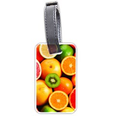 Mixed Fruit 1 Luggage Tags (one Side)