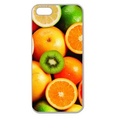 Mixed Fruit 1 Apple Seamless Iphone 5 Case (clear)