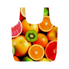 Mixed Fruit 1 Full Print Recycle Bags (m)