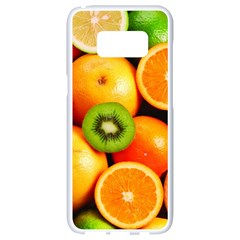 Mixed Fruit 1 Samsung Galaxy S8 White Seamless Case