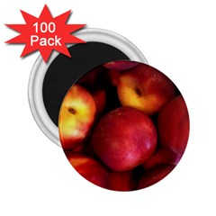 Nectarines 2 25  Magnets (100 Pack)