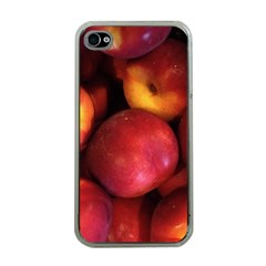 Nectarines Apple Iphone 4 Case (clear)