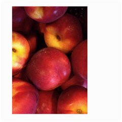 Nectarines Large Garden Flag (two Sides)