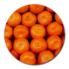 Oranges 1 Round Mousepads