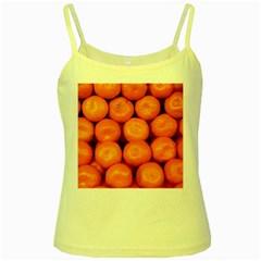 Oranges 1 Yellow Spaghetti Tank