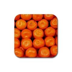 Oranges 1 Rubber Coaster (square)