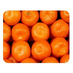 Oranges 1 Double Sided Flano Blanket (large)
