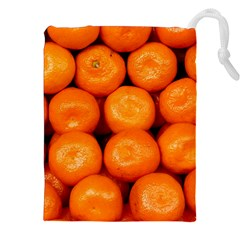 Oranges 1 Drawstring Pouches (xxl)
