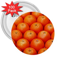 Oranges 2 3  Buttons (100 Pack)