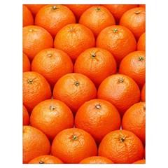 Oranges 2 Drawstring Bag (large)