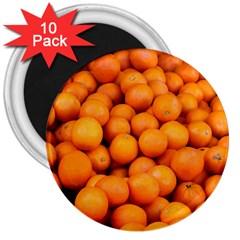 Oranges 3 3  Magnets (10 Pack)