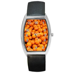 Oranges 3 Barrel Style Metal Watch