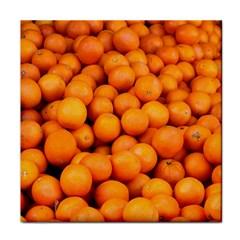 Oranges 3 Face Towel