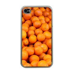 Oranges 3 Apple Iphone 4 Case (clear)
