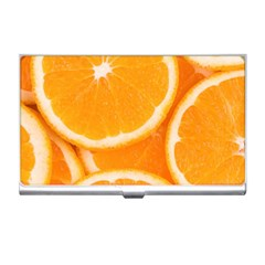 Oranges 4 Business Card Holders