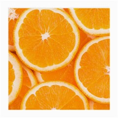 Oranges 4 Medium Glasses Cloth