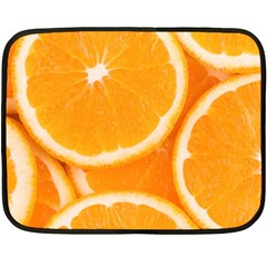 Oranges 4 Double Sided Fleece Blanket (mini)