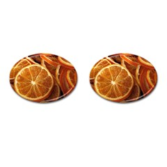 Oranges 5 Cufflinks (oval)