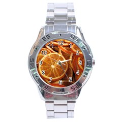 Oranges 5 Stainless Steel Analogue Watch