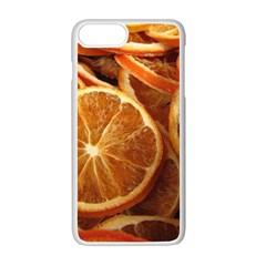 Oranges 5 Apple Iphone 7 Plus Seamless Case (white)