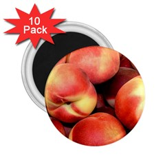 Peaches 1 2 25  Magnets (10 Pack)