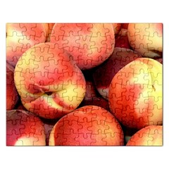 Peaches 1 Rectangular Jigsaw Puzzl