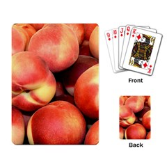 Peaches 1 Playing Card