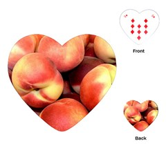 Peaches 1 Playing Cards (heart)