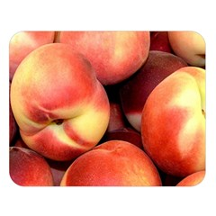 Peaches 1 Double Sided Flano Blanket (large)