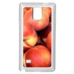 Peaches 1 Samsung Galaxy Note 4 Case (white)